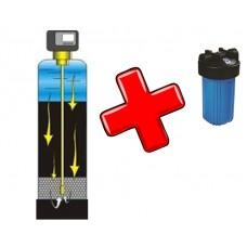 Фильтр механической очистки ФОВ 1054 1 м3/ч  +фильтр магистральный вв 10 в подарок с сорбционным картриджем