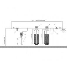 Решение для удаления железа, марганца, сероводорода, снижение окисляемости 1,5 куб.м/ч