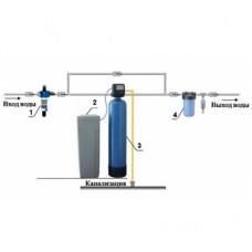Cтанция умягчения воды 1,5 куб.м/ч