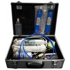 Установка обратного осмоса четырёхступенчатая Aquapro Travel-Kit с насосом